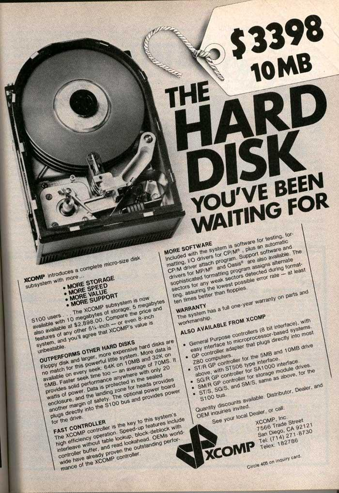 The hard disk you have been waiting for